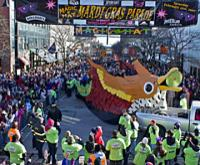 Magic Hat Mardi Gras in Vermont - Media photo courtesy of Magic Hat.