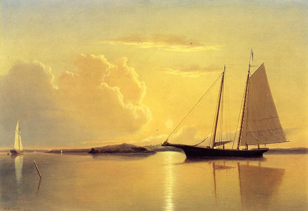 schooner-in-fairhaven-harbor-sunrise-1859